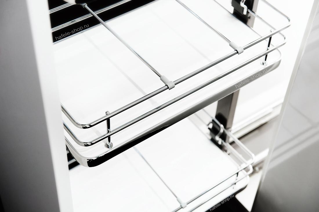 Выдвижная колонна в кухню, ELEGANCE, ширина фасада 400 мм, высота 1900 - 2200 мм