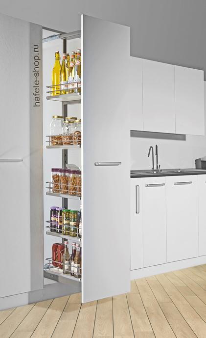 Выдвижная колонна в кухню, ELEGANCE, ширина фасада 450 мм, высота 1700 - 2000 мм
