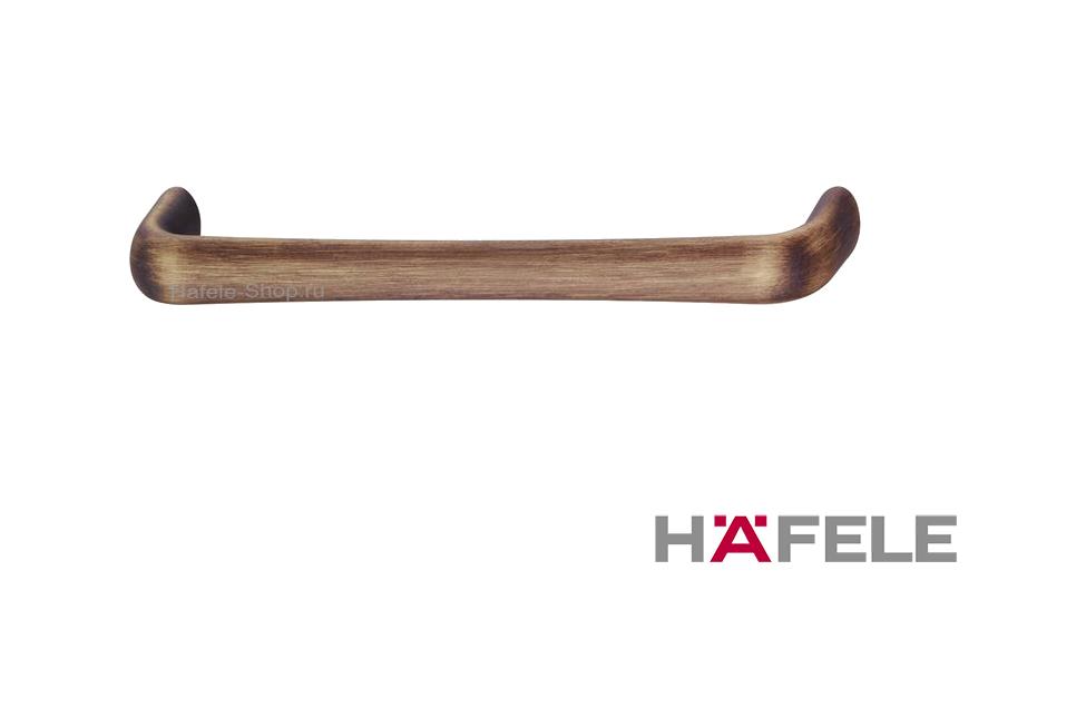 Ручка ретро, винтажный стиль, цвет античная бронза, длина 172 мм, между винтами 160 мм