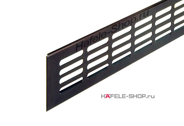 Вентиляционная решетка из алюминия, 300 x 80 мм, цвет темная бронза