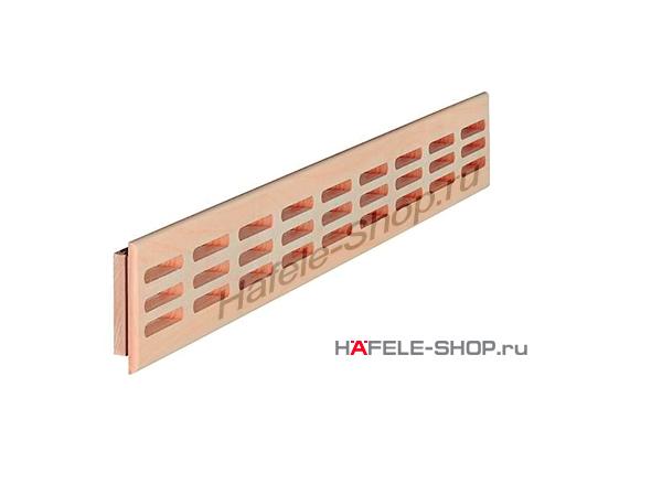 Решетка из массива бука 550 x 80 мм