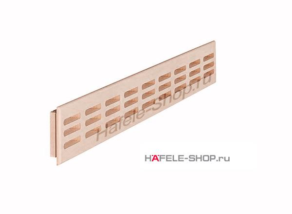 Решетка из массива дуба 550 x 80 мм