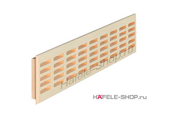 Решетка из массива клёна 550 x 120 мм