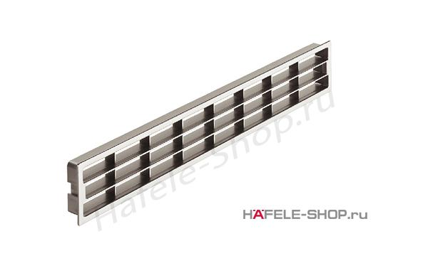 Вентиляционная решетка  цвет хром 458 x 65 мм