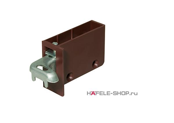 Навес для шкафа регулируемый правый коричневый. Несущая способность 130 кг. на пару.