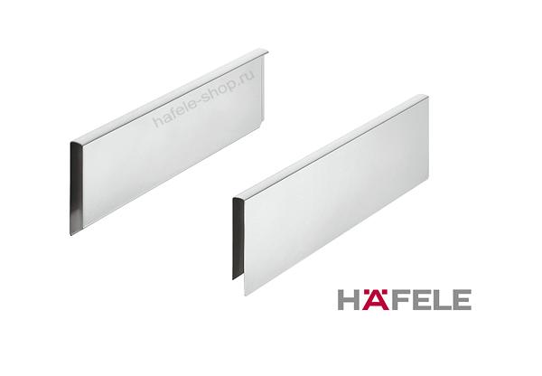 Комплект наращивания высоты ящика Moovit MX, длина 400 мм, цвет серебристый металлик