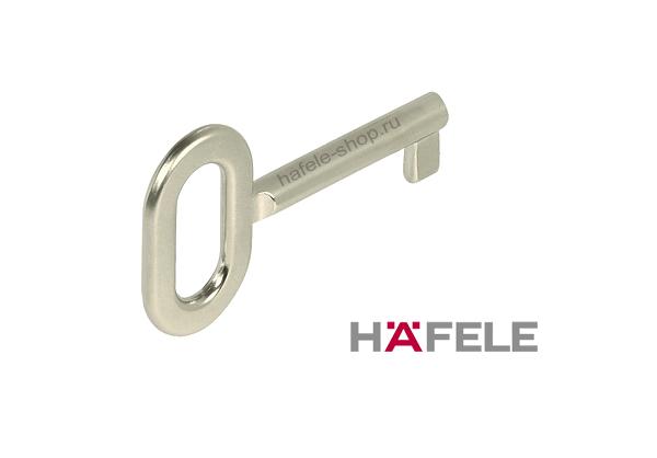 Ключ для замка никелированный