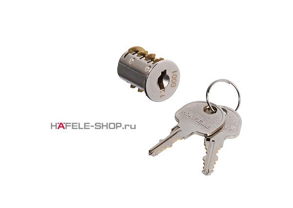 Сердечник замка Symo с ключами с одинаковым запиранием