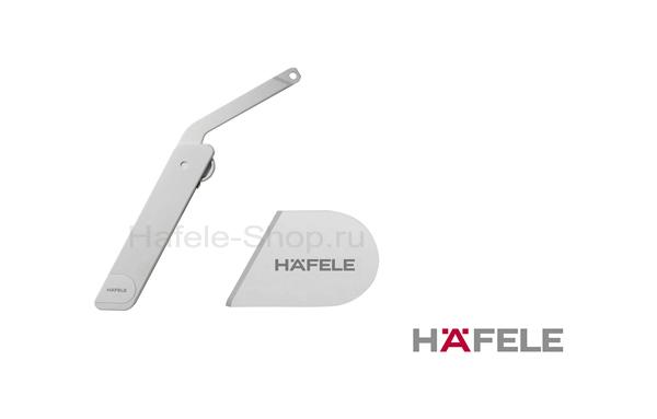 Заглушка HAFELE для Free flap H1.5, серая, правая