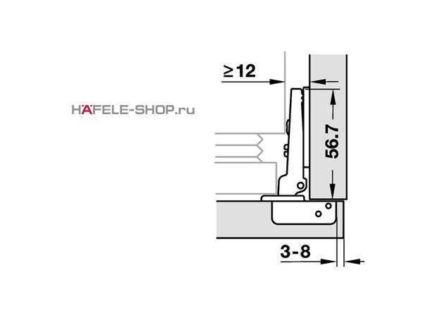 Схема установки мебельных петель фото 215