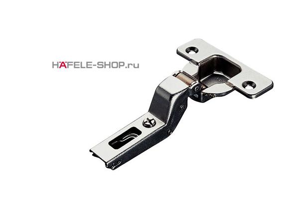 Петля HAFELE Duomatic Push Угол раскрытия 110 гр. для вкладной  двери, схема 48/6 мм