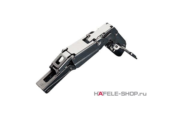 Петля HAFELE Duomatic Push Угол раскрытия 165 гр. для накладной  двери, схема 48/6 мм