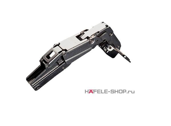 Петля HAFELE Duomatic Push Угол раскрытия 165 гр. для полунакладной  двери, схема 48/6 мм