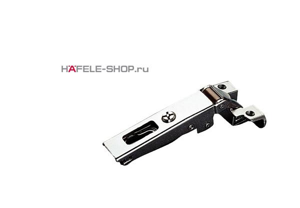 Петля HAFELE Duomatic Push Угол раскрытия 105 гр. для накладных дверей из алюминиевого профиля