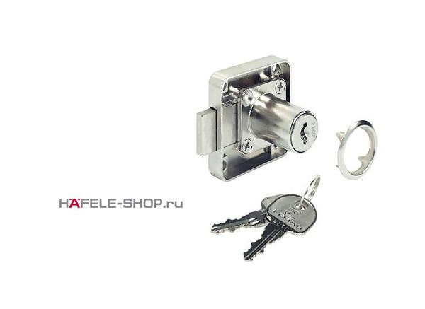 Замок мебельный HAFELE в комплекте с ключами и розеткой