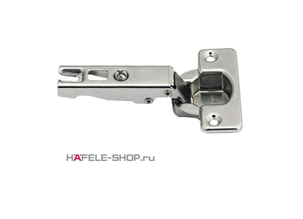 Петля Metallamat HAFELE для накладной двери  Угол раскрытия 110 гр. 48/6 монтаж задвижением