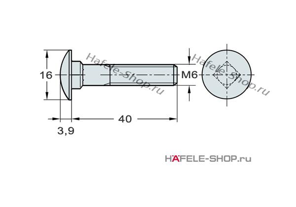 Соединительный винт М6 х 40 мм