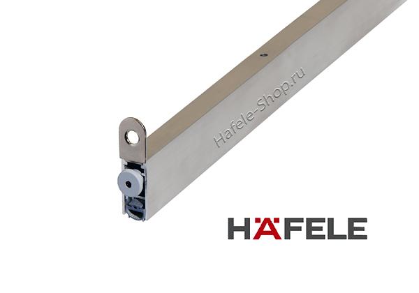 Врезной порог для двери автоматический, длина 630 мм.