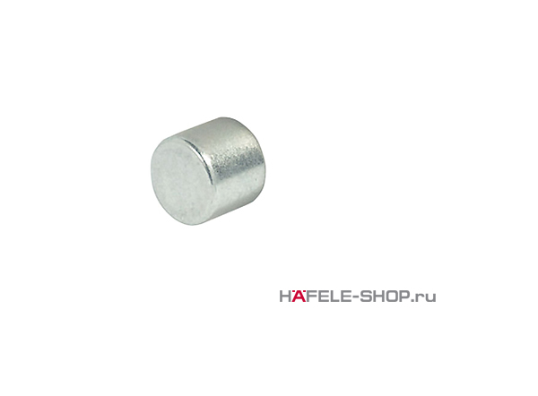 Магнит в стальной оболочке под облицовку шпоном удерживающие усилие 3 кг.