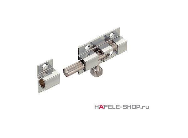 Дверной шпингалет длина 60 мм латунь хромированная