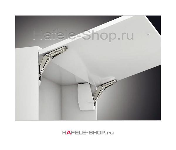 Подъемный механизм для фасада Free flap 3.15, высота фасада 350-650 мм, вес 3,4-14,3 кг*, белый