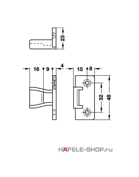 Крепление панелей Keku AS крепление винтами Varianta диаметром 3,0 или 5,0 мм.