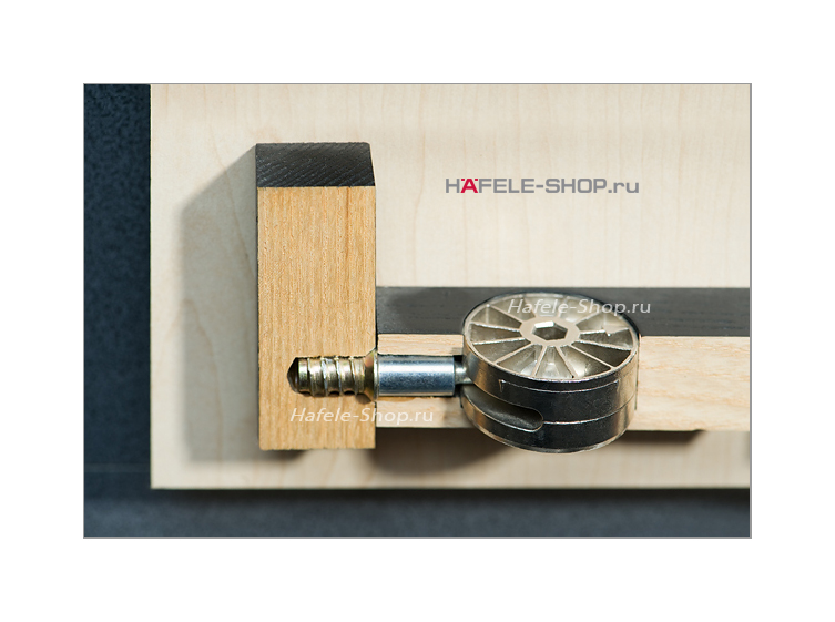 Стяжка мебельная MAXIFIX шестигранный привод SW6 D=35 мм никелированная