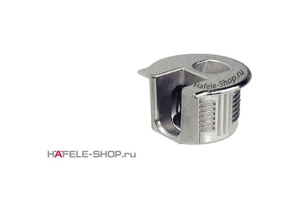 Стяжка мебельная RAFIX 20 никелированная для деталей толщиной от 19 мм
