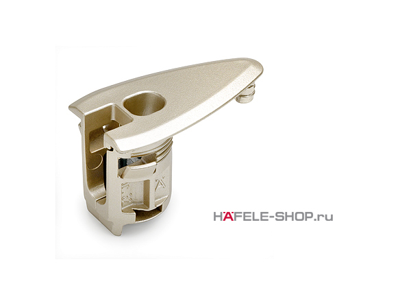 Корпус стяжки для тамбурата Rafix 20 HC никелированный. Для плит толщиной 32-50 мм.