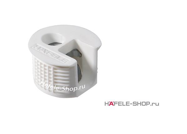 Стяжка мебельная RAFIX 20 белая для деталей толщиной от 16 мм монтаж заподлицо