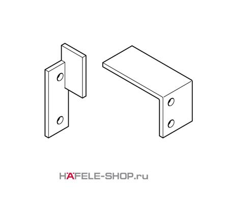 Комплект уголков для доводчика на систему Hangroller 50