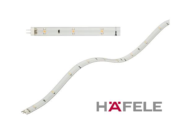 Светодиодная лента 300 мм LED модель 2011 12V/0,8W свет теплый белый