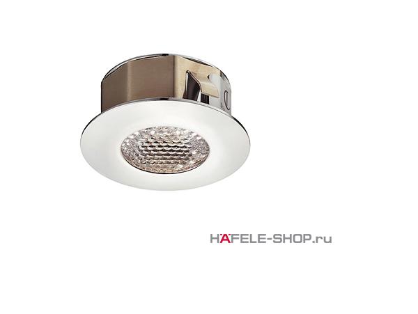 Светильник светодиодный HAFELE модель 1007 350mA/1,2W свет холодный белый. IP44