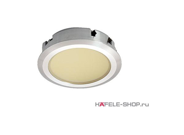 Светильник светодиодный HAFELE модель 1064 350mA/2W свет холодный белый  корпус алюминий серебристый