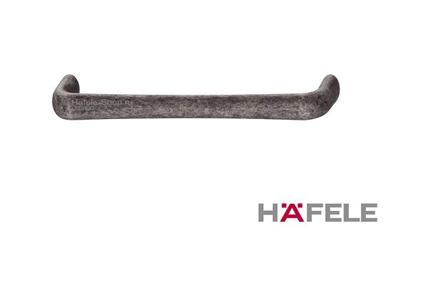 Ручка ретро, винтажный стиль, цвет античный цинк, длина 172 мм, между винтами 160 мм