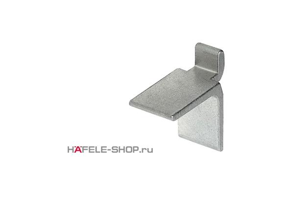 Полкодержатель для шины, алюминий серебристого цвета 11 х 18 мм