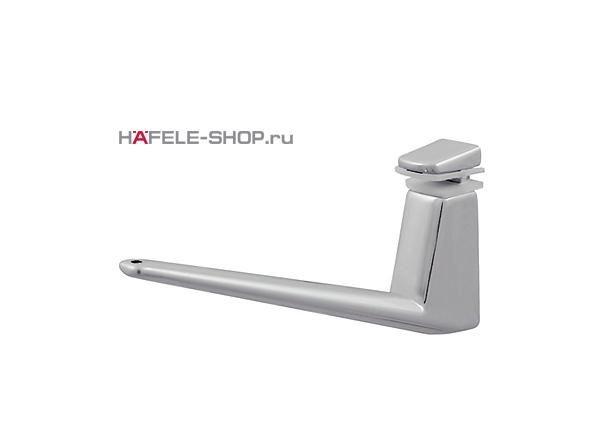 Консоль для полки толщиной 4-35 мм, цвет алюминий RAL 9006 длина 140 мм
