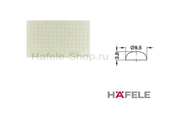 Упорный амортизатор для приклеивания, диаметр 9,5 мм, высота 3,8 мм, пластина 200 штук