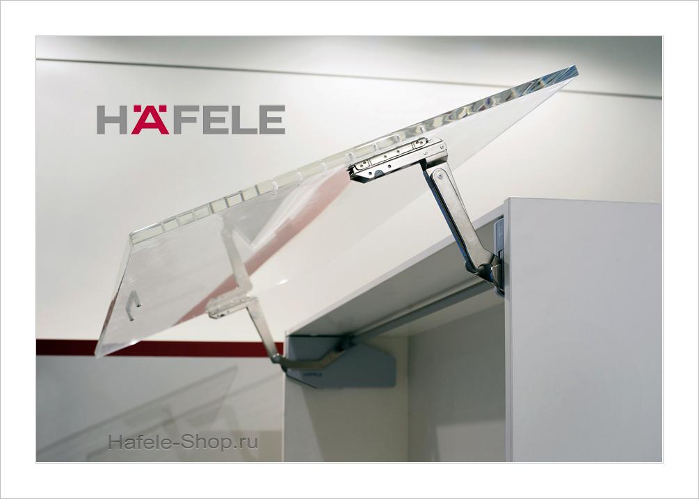 Диагональный подъемный механизм фасада FREE SWING S7sw. Высота фасада 370-500 мм. Вес фасада 4,5- 10,3 кг.