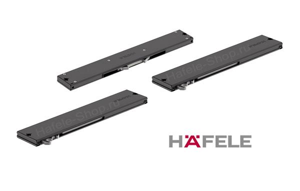 Доводчики для шкафа из 3-х дверей, комплект из 3-х доводчиков для дверей весом до 50 кг. Ход демпфирования 50 мм.