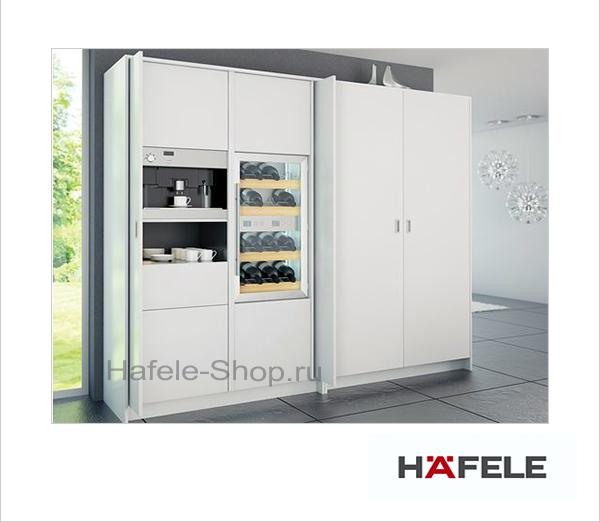 Комплект HAWA Folding Concepta 25, высота двери 1250-1850 мм, левая, цвет фурнитуры черный