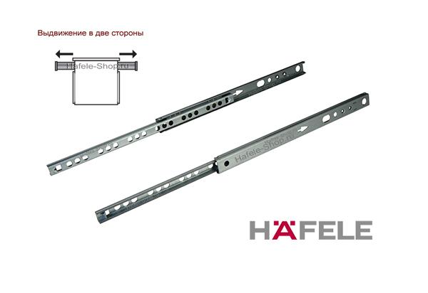 Шариковые мебельные направляющие частичного выдвижения 214 мм несущая способность 10 кг.