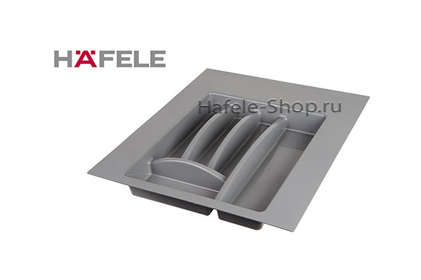 Вставка для столовых приборов, ширина шкафа 400-450 мм, серая