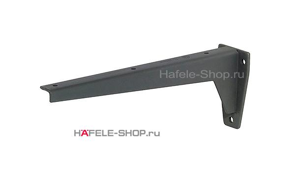 Консоль с несущей способностью 150 кг на пару, сталь, длина 330 мм.