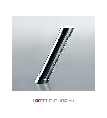 Консоль барная наклонная,  H=200 мм, цвет хром полированный