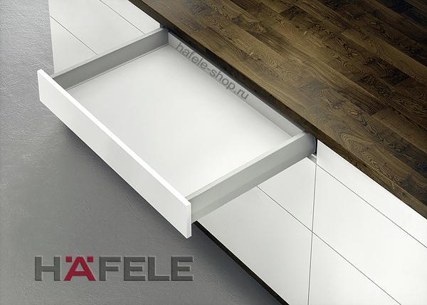 Ящик Matrix Box Push 35, высота 92 мм, ширина шкафа до 600 мм, длина 350 мм, цвет серый