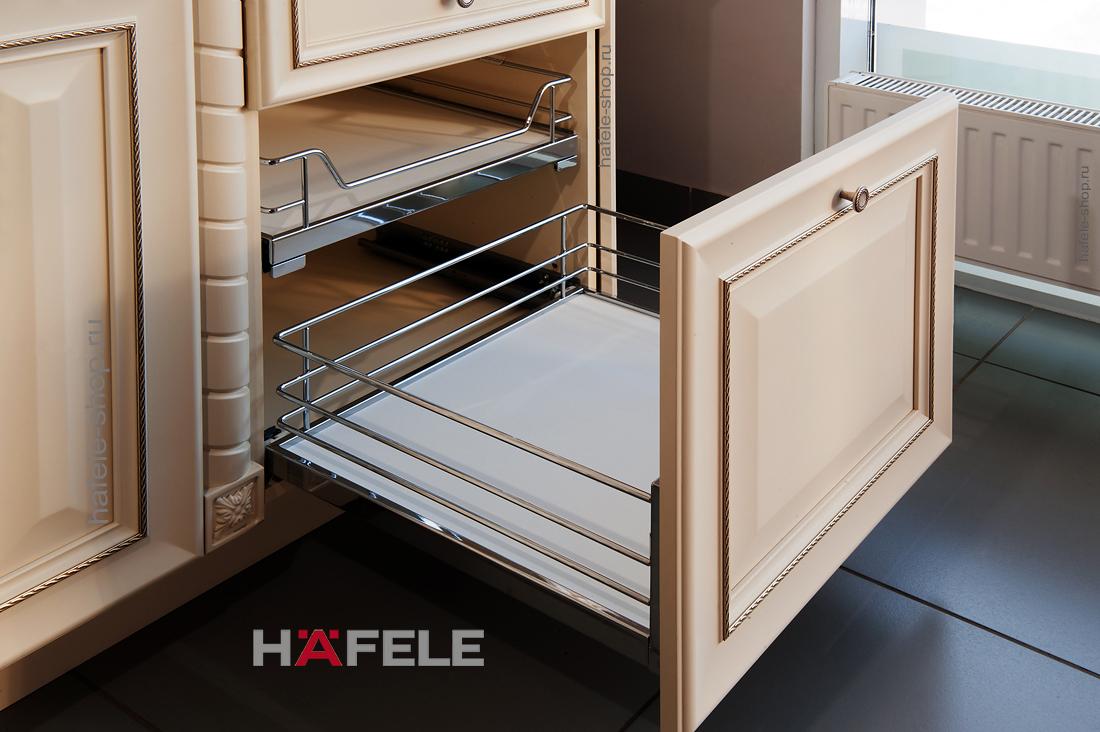 Выдвижная корзина BRILLIANT, в шкаф шириной 450 мм, внутренняя