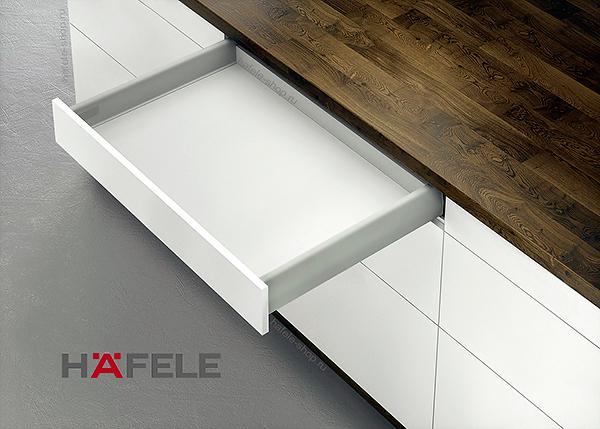 Ящик Matrix Box S 35, высота 84 мм, длина 450 мм, цвет серый