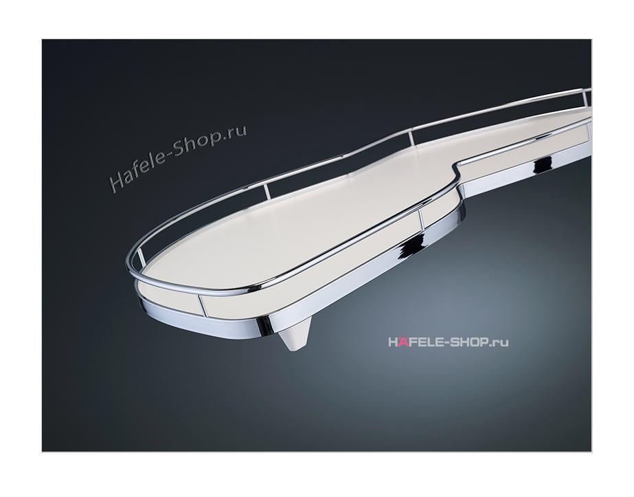 Выдвижные полки в угловой шкаф, Classic, для фасада шириной 500 мм, левый, к-кт 2 шт.