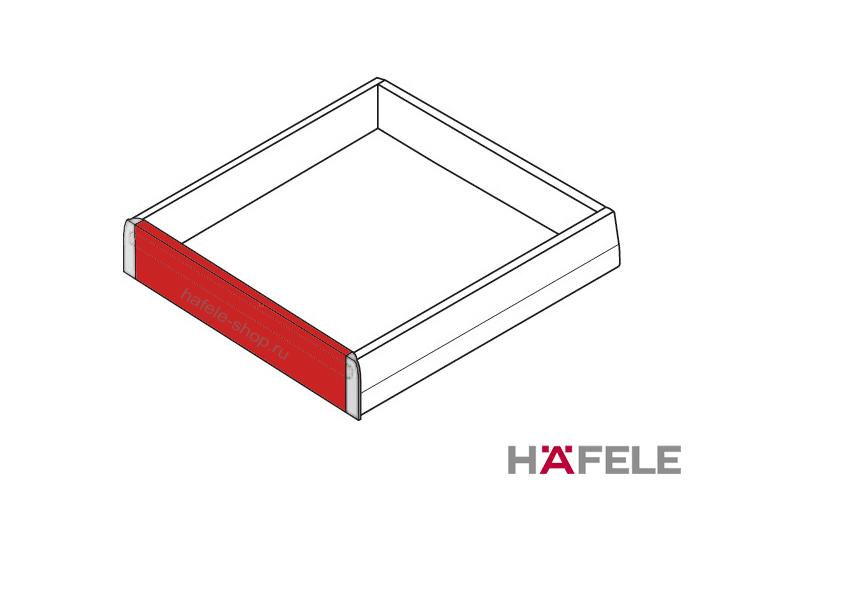 Лицевая панель внутреннего ящика Moovit MX, для шкафа 600 мм, цвет бронза